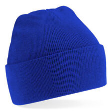 Bonnet Bleu roi ' Classic' Sport marque Beechfield blue beanie 20 coloris