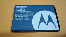 Authentic MOTOROLA OEM REPLACEMENT BQ50 BATTERY 3.7V 910 MAH LITHIUM ION BATTERY