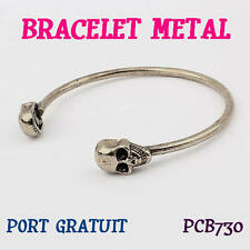 BRACELET TETE DE MORT / TETE DE MORT / BIJOUX / BRACELET MODE / SKULL
