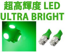 T10 5 SMD 5050 LED Neon Green Trunk Reverse Backup Brake Plate Wedge Light Bulbs
