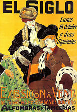 Art Poster - Fabric Expo - French Advert - Deco  A3 Print