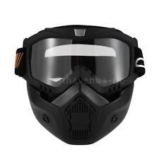 Mortorcycle Maske Abnehmbare Brille und Mund Filter für Jethelm Motocross J4J1