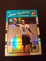 2016 Donruss Optic Holo Carolina Panthers Football Card #119 James Bradberry