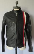Belstaff Vintage Leather Racing Jacket