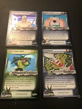 Dragon Ball Z CCG Complete Cell Redemption Promo Set 1-4!!