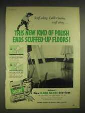 1952 Johnson's Hard Gloss Glo-Coat Wax Ad