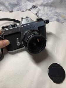 Asahi Pentax Spotmatic mit 1:1.8/55