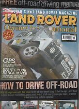 LAND ROVER OWNER INTERNATIONAL JULY 2003 & HOW TO DRIVE OFF ROAD BOOK