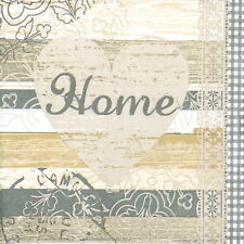 4x Paper Napkins for Decoupage Decopatch Craft Live Home