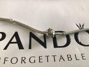 Pandora Silver, 14ct Gold & Genuine Diamond Charm, SUPERB CONDITION