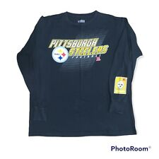 New listing Pittsburgh Steelers Football Long Sleeve Shirt AFC NFL Team Apparel Size Large