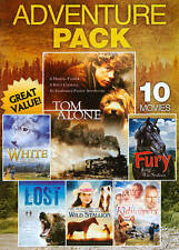 10 Movie Adventure Pack, Vol. 3 (DVD, 2013, 2-Disc Set) Like new.