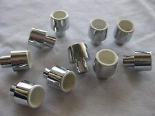 10 Stück Möbelknopf, Schrankknopf, Türknopf, Schubladengriff 1,8cmx2,3 cm,silber