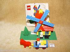 LEGO Sets: Legoland: Building: 00-4 Weetabix Promotional Windmill (1976) 100%