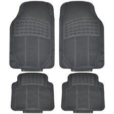 Toyota Hilux 4 X Heavy Duty Waterproof Rubber Car Mats Floor Black 2001-2018