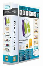 Elba Polyvision Maxi Presentation A4 RING Binder Polypropylene,50mm Spine