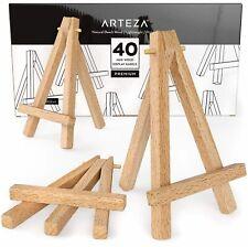 """Arteza Mini Wood Display Easel, 5"""" - Pack of 40"""