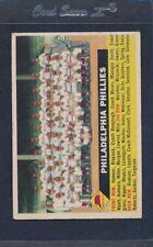 1956 Topps GB #072 Philadelphia Phillies Team Fair *2118