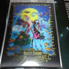 Haunted Mansion Holiday Nightmare Post Card  3D Art Tokyo Disney Land Resort TDR