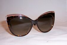 NEW CHRISTIAN DIOR GLISTEN 1 S E59-HA HAVANA BROWN SUNGLASSES AUTHENTIC 5c1009e0622b
