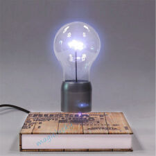 Creative Gift Magnetic Floating Rotating LED Glass Bulb Home Hotel Deco