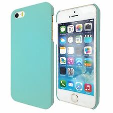 Slim Hard Slim 1-Piece Case Rubberized Cover For Apple iPhone 5S 5 4S 6S PLUS