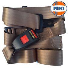 Securon 210 Brown Lap Seat Belt Universal Fitment Front Rear Bus Coach Camper