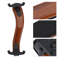 Adjustable Wood Violin Shoulder Rest W/ Foam Padding Support for 3/4, 4/4 Violin