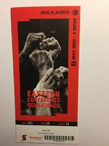 TORONTO RAPTORS VS PHILADELPHIA APRIL 29,2019 PLAYOFF TICKET STUB-RD2 HOMEGAME 2