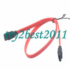 5pcs SATA Data Cable Serial Hard Drive Line for PC Computer SATA Devices Red 18""