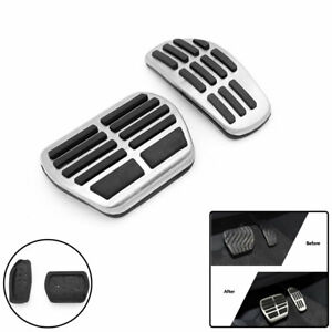 For Nissan Qashqai J11 SUV Accelerator Brake Pedal Cover Stainless Steel Pad 2PC