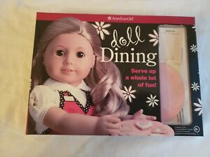 American Girl Doll Activity Kit - doll Dining New opened - Create a restaurant