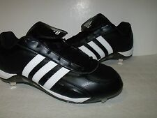 Adidas EXCELSIOR 5 LOW Mens Metal BASEBALL Cleats (Black/White) NEW Mens Sz16
