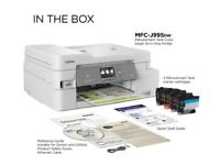 Brother MFC-J995DW INKvestment Tank Color Inkjet All-in-One Printer Brand New