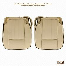 2003 2004 Lincoln Navigator Driver & Passenger Bottom Perforated Leather Cover