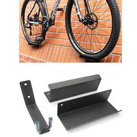 Bike Wall Mounted Hanger Bicycle Rack Pedal Hook Display Storage Brackets MTB