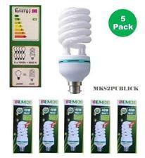40W=5 X 40W  8000k CFL  LIGHTBULB  DAYLIGHT  BULB B22 BAYONET ENERGY SAVER BULB