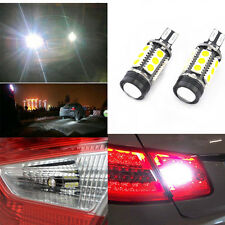 one 7W HID White 921 T15 Backup Reverse LED Lights Projector Lens Bulbs White