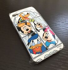For iPHONE 4 4S - HARD CASE COVER DISNEY MICKEY & FRIENDS DONALD GOODY MINNIE