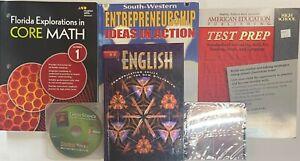 Grade 9 Curriculum 5-Subject Homeschool 9th Student Bundle Homeschooling Kit