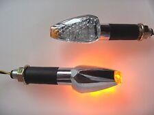 ►2X LED CHROM KLARGLAS DEVIL BLINKER YAMAHA XJ900F/S,TDM900,XV1000SE,XJR1200,TR1