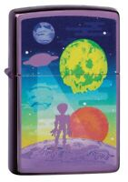 Zippo Alien Worlds Design Windproof Pocket Lighter, 24747-081162