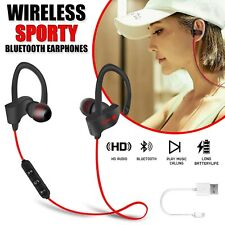 Bluetooth Earphones Wireless Headphones Earbuds Sports Gym For iPhone Samsung UK