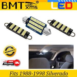 Map Dome White Interior Light For Chevy Silverado 1500 GMC Sierra 1988-1998