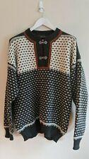 NORDSTRIKK Vintage Sweater - 100% Virgin Wool - Mens Size XXL - Made in Norway