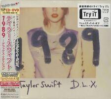 TAYLOR SWIFT-1989 - DELUXE EDITION-JAPAN CD BONUS TRACK DVD Ltd/Ed G88
