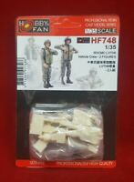 Hobby Fan HF-748  1/35 ROC Marine Corps LVTH6 Vehicle Crew - 2 Fig. for AF35141