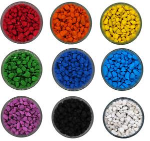 Coloured Aquatic Gravel - Premium Natural Bottom Fish Tank Stones Vibrant Colour