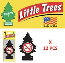 NO SMOKE Little Trees 17037 Freshener Air Tree MADE IN USA  U1P-17037 Pack of 12
