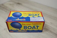 Schylling Balloon Powered Wooden Boat Complete in Box